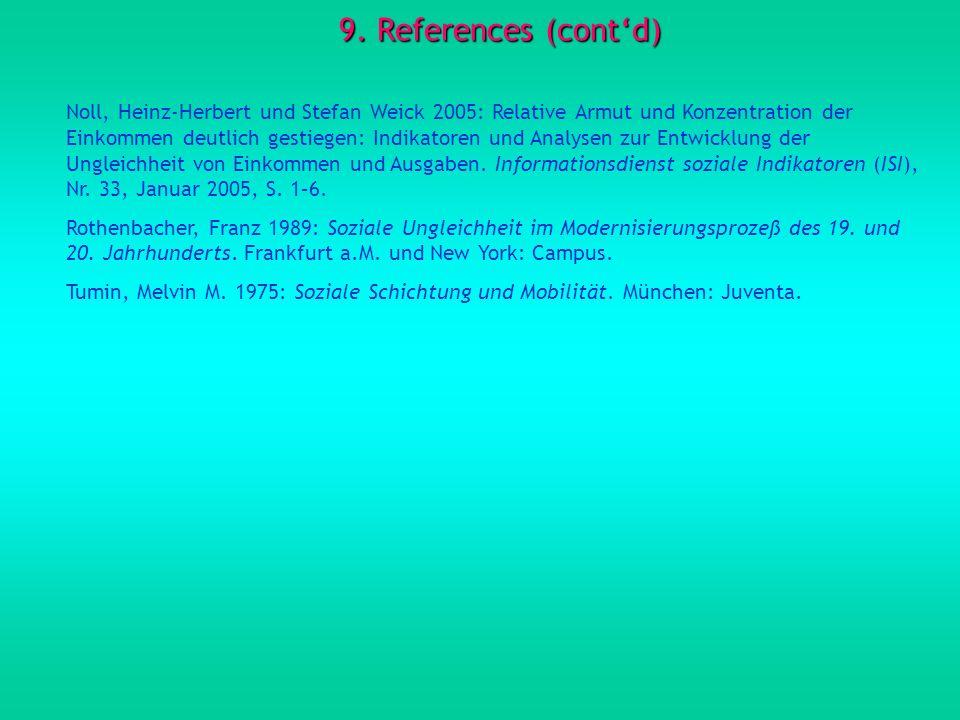 9. References (cont'd)