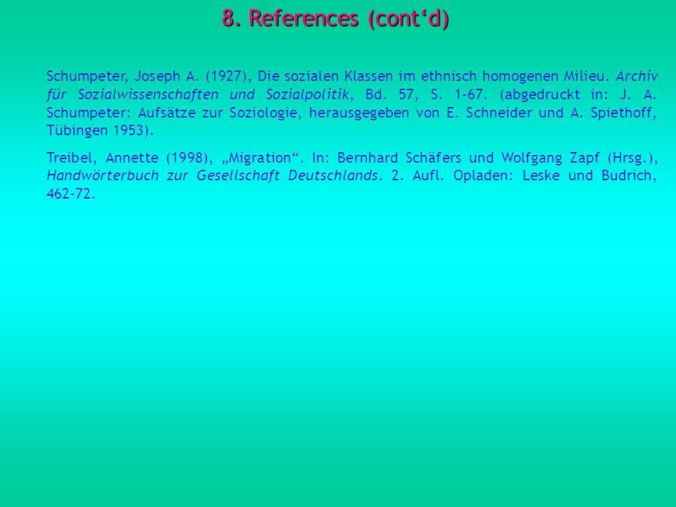 8. References (cont'd)