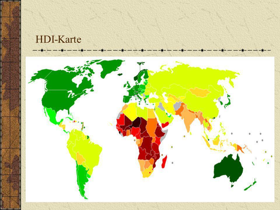HDI-Karte