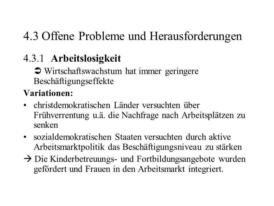 4.3 Offene Probleme und Herausforderungen