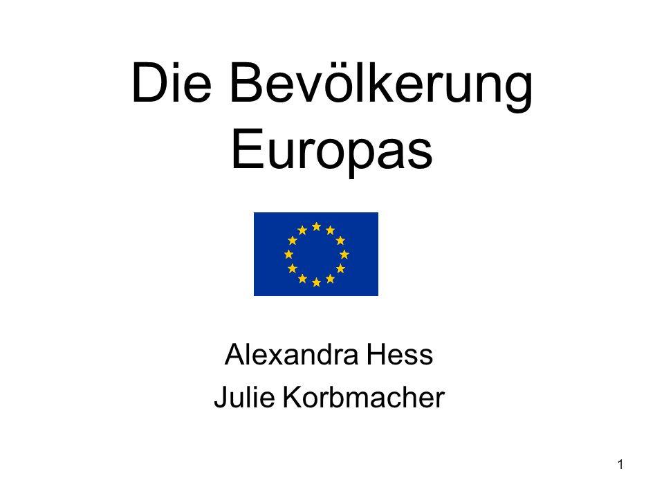 Die Bevölkerung Europas