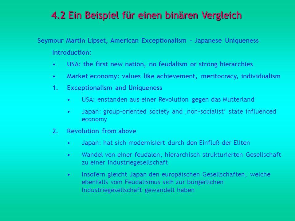 4.2 Ein Beispiel für einen binären Vergleich
