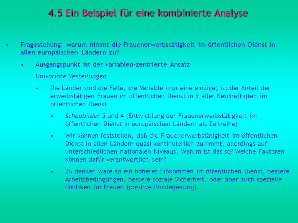 4.5 Ein Beispiel für eine kombinierte Analyse