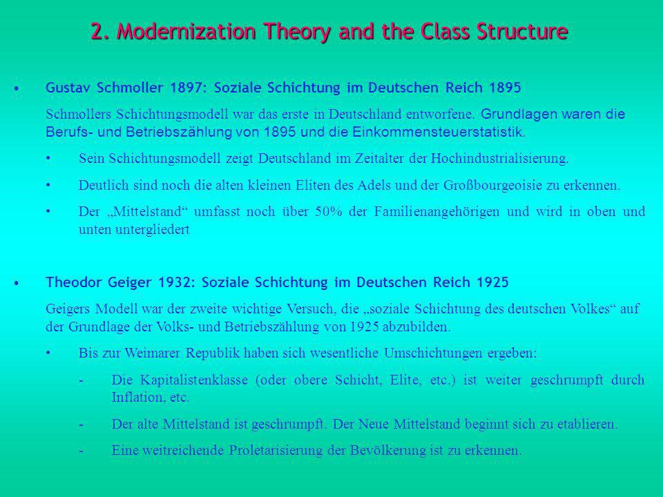 2. Modernization Theory and the Class Structure