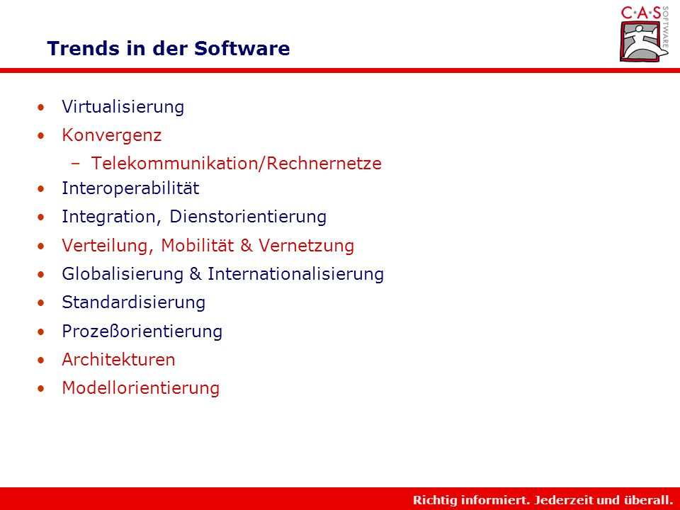 Trends in der Software Virtualisierung Konvergenz