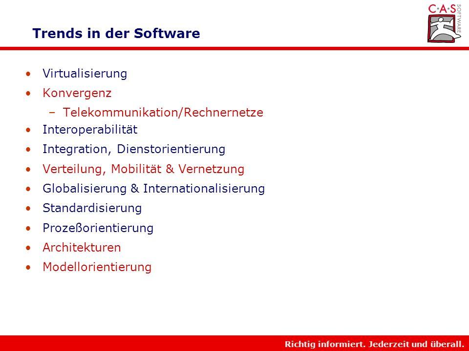 Trends in der Software Virtualisierung Konvergenz
