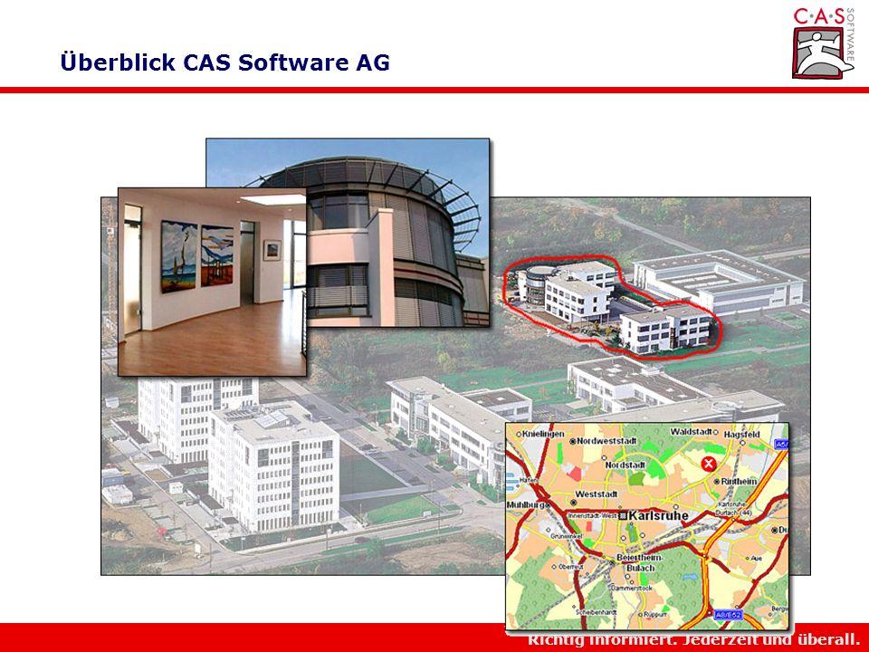 Überblick CAS Software AG