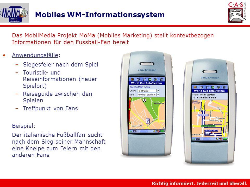 Mobiles WM-Informationssystem