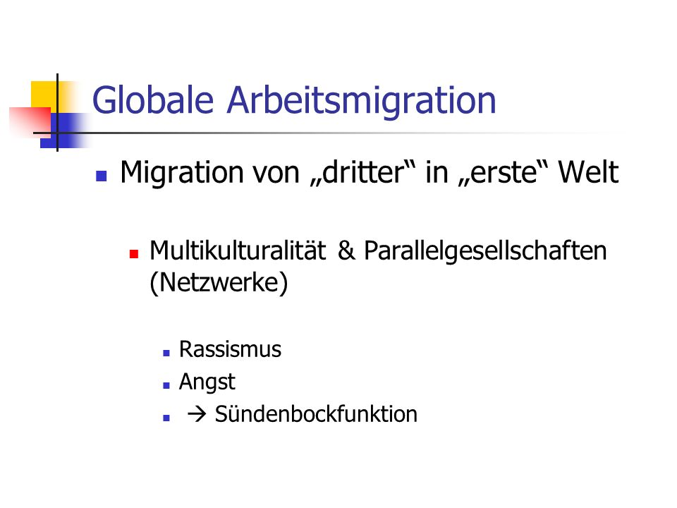 Globale Arbeitsmigration