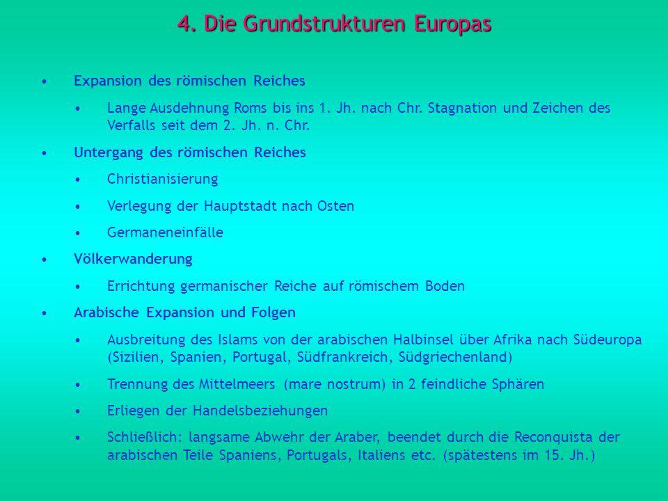 4. Die Grundstrukturen Europas