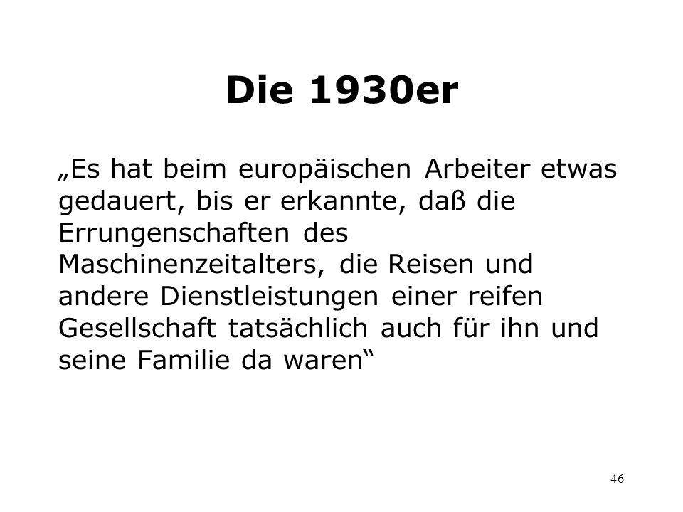 Die 1930er