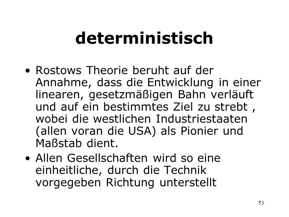 deterministisch