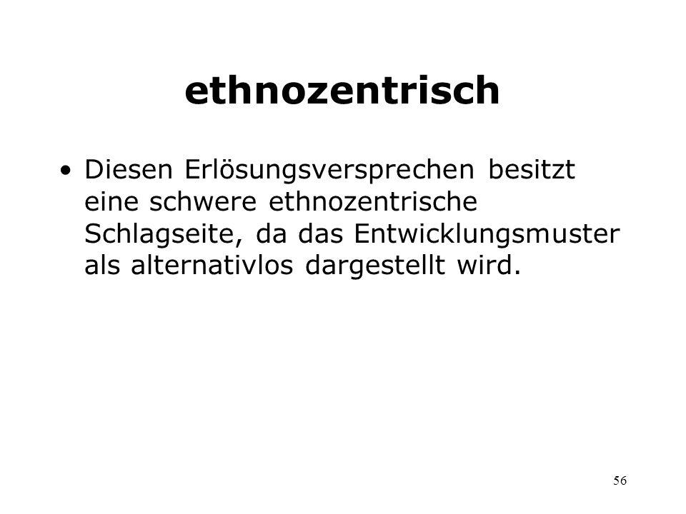 ethnozentrisch