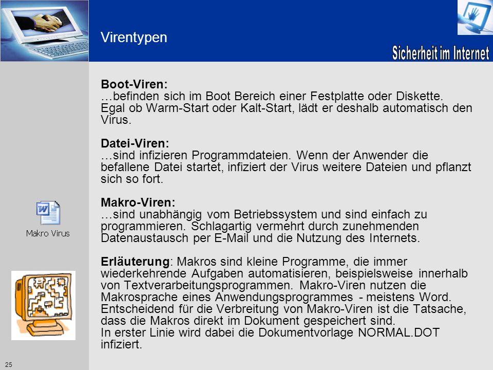 Virentypen Boot-Viren: