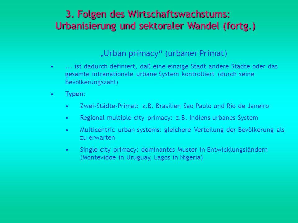 """""""Urban primacy (urbaner Primat)"""