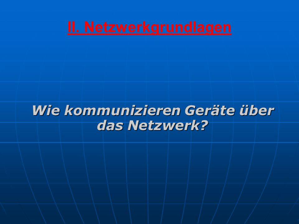 II. Netzwerkgrundlagen