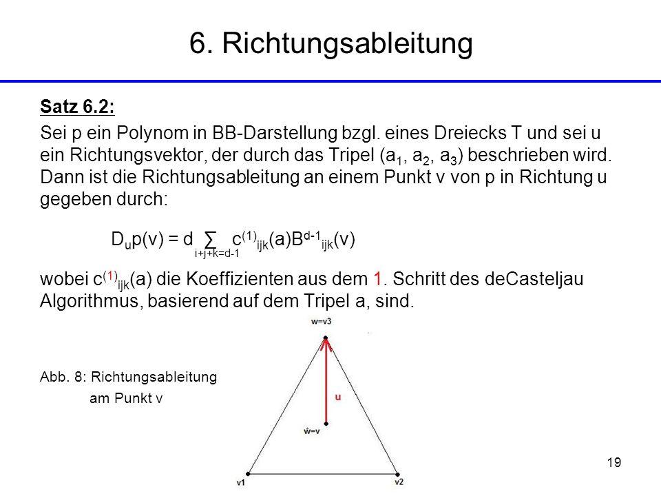 6. Richtungsableitung Satz 6.2: