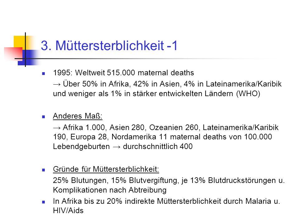 3. Müttersterblichkeit -1