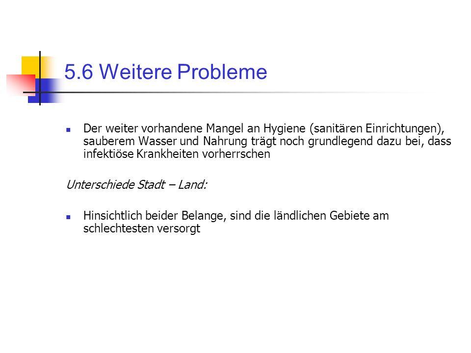 5.6 Weitere Probleme