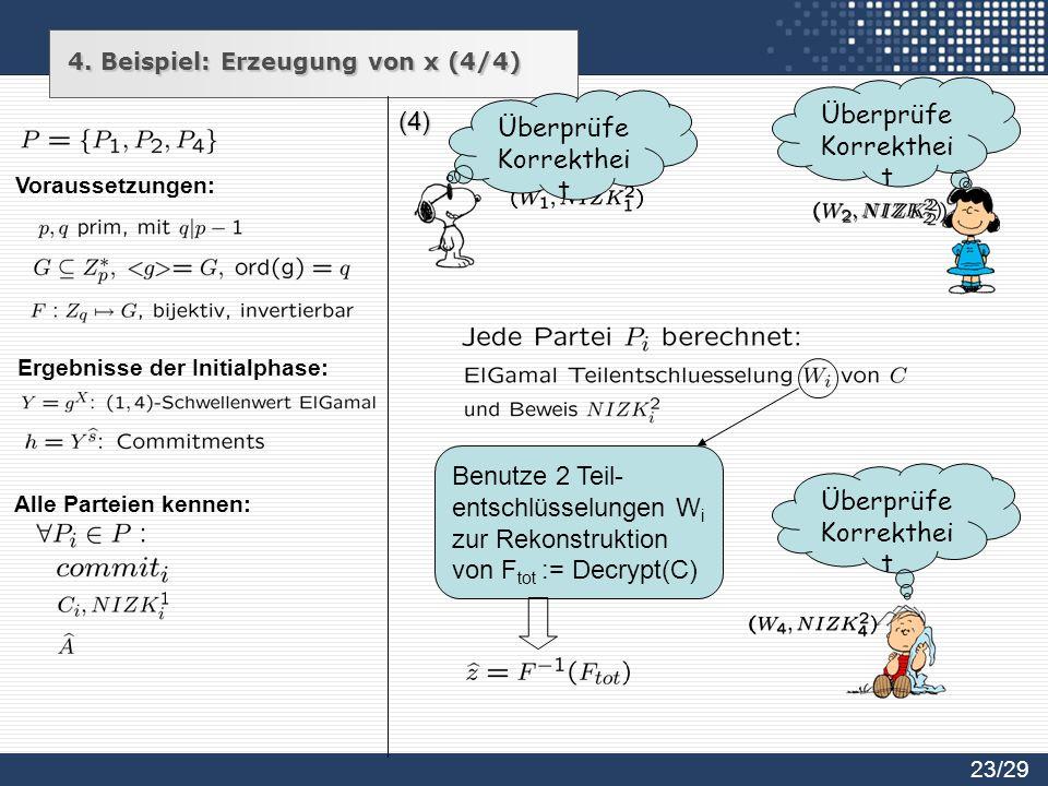 Überprüfe Korrektheit Überprüfe Korrektheit (4)