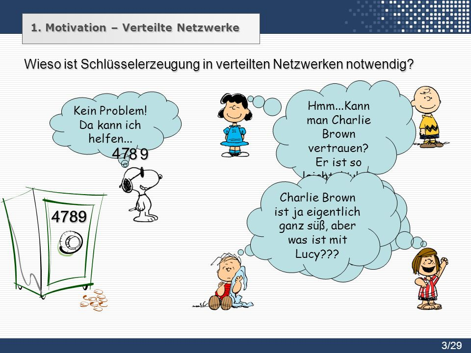 1. Motivation – Verteilte Netzwerke