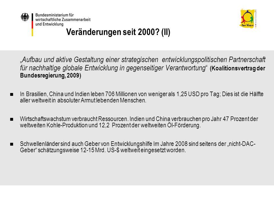 Veränderungen seit 2000 (II)