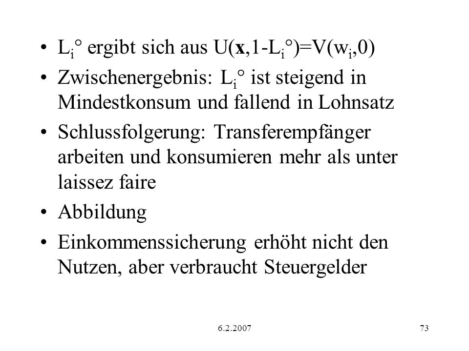 Li° ergibt sich aus U(x,1-Li°)=V(wi,0)