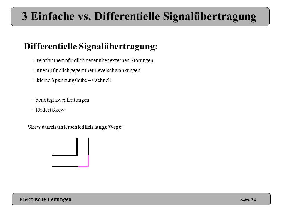 3 Einfache vs. Differentielle Signalübertragung