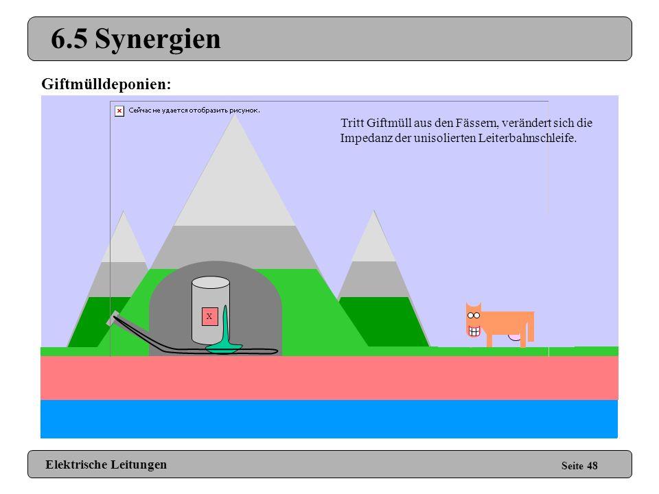 6.5 Synergien ! ! Giftmülldeponien: