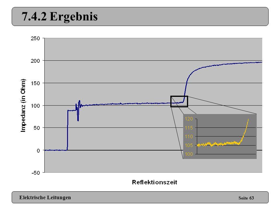 7.4.2 Ergebnis Elektrische Leitungen Seite 63