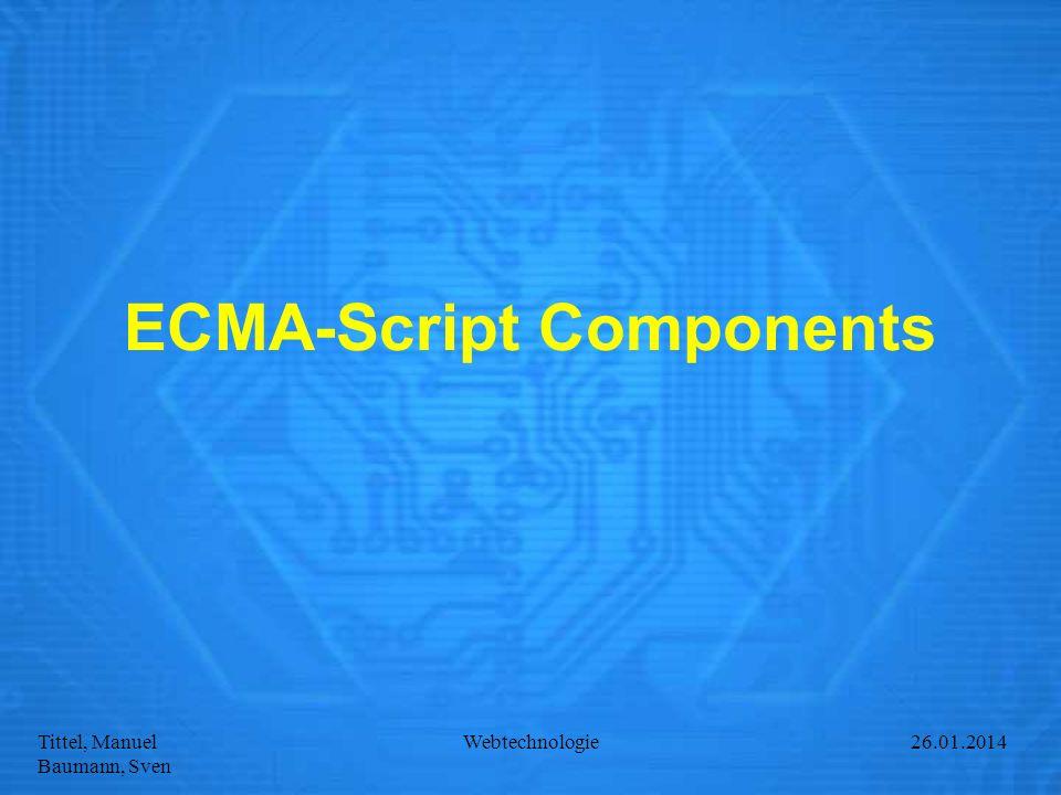 ECMA-Script Components
