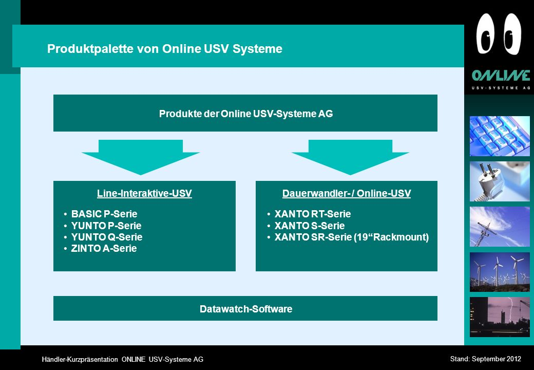 Line-Interaktive-USV Dauerwandler- / Online-USV