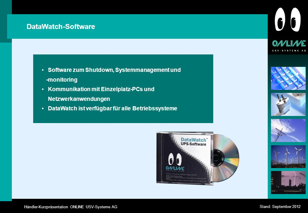 DataWatch-Software Software zum Shutdown, Systemmanagement und