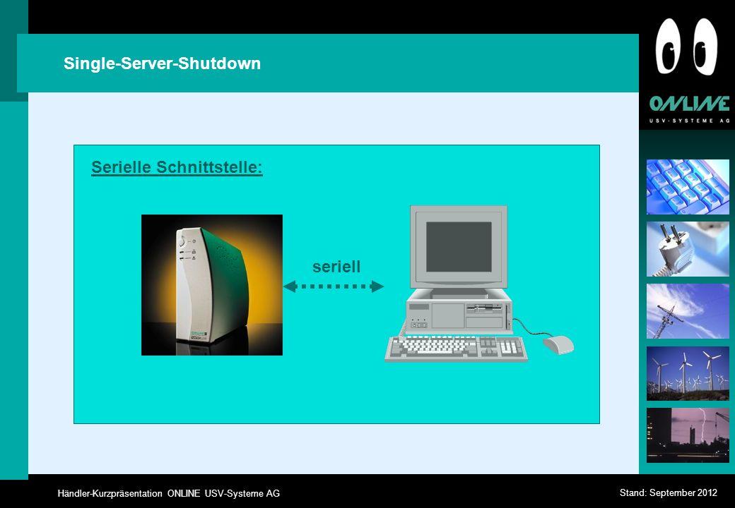 Single-Server-Shutdown