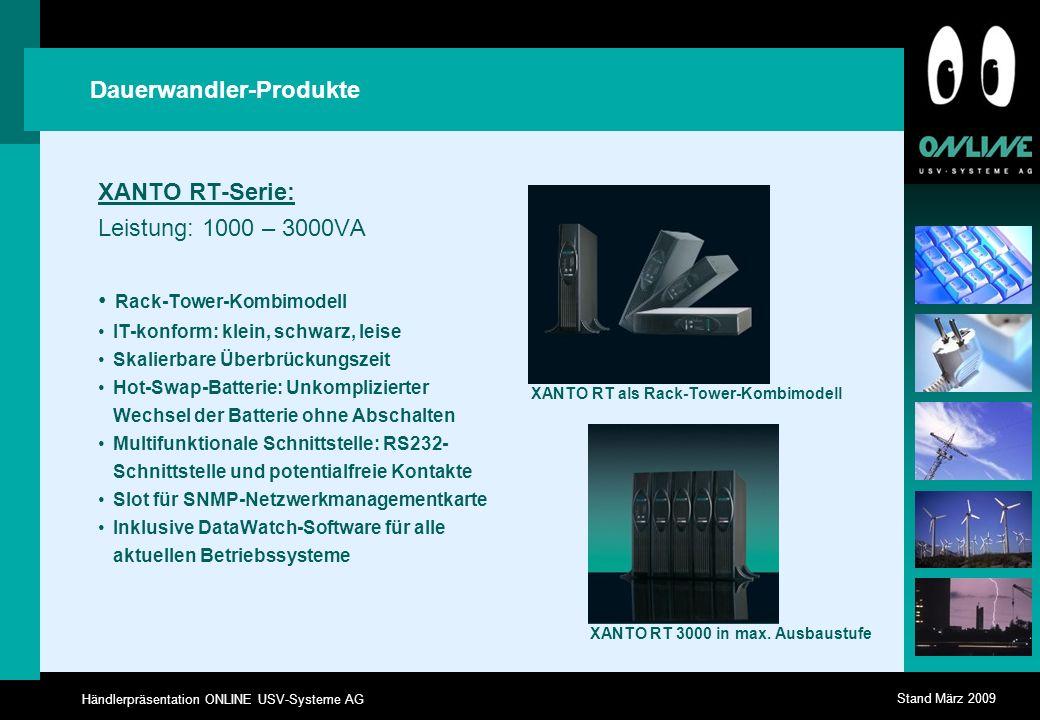 Dauerwandler-Produkte