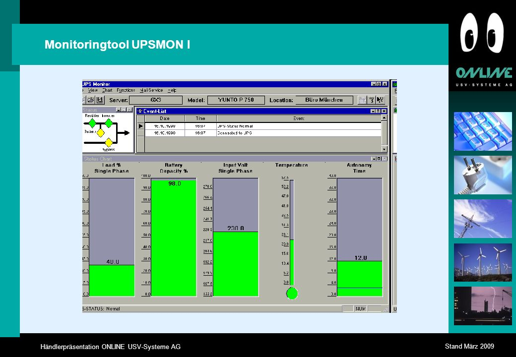Monitoringtool UPSMON I