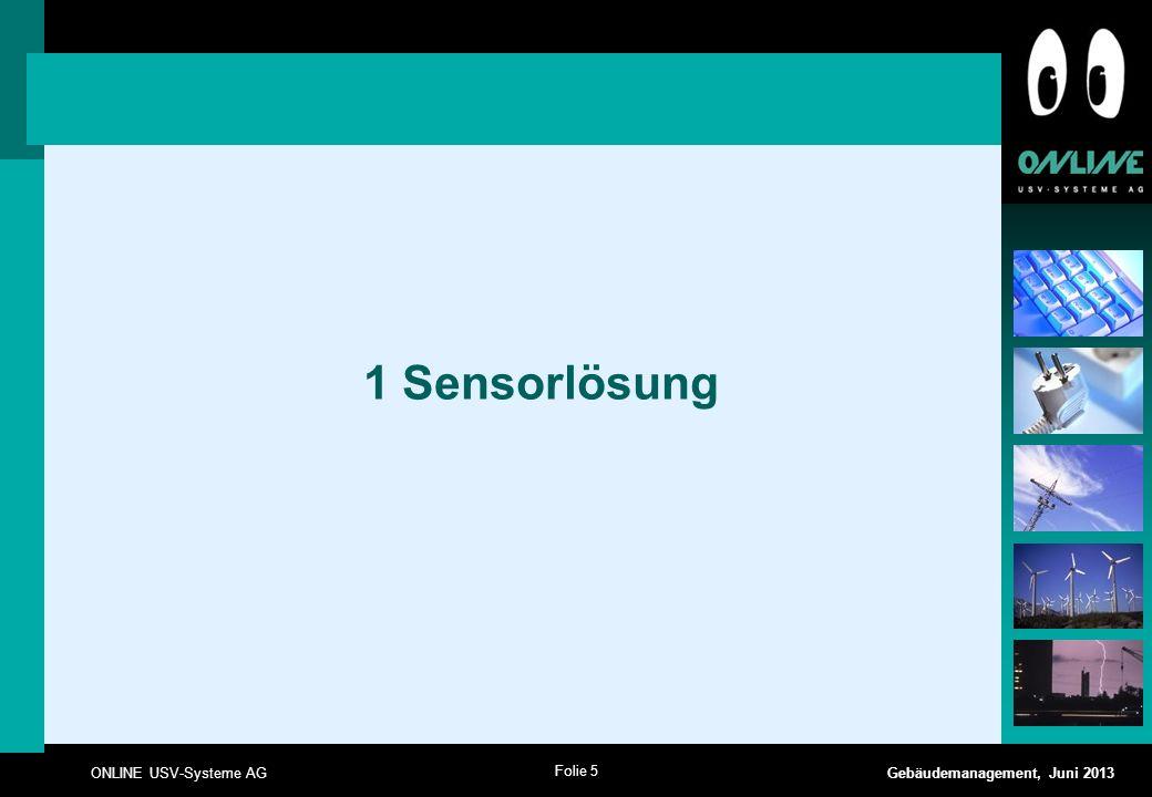 1 Sensorlösung