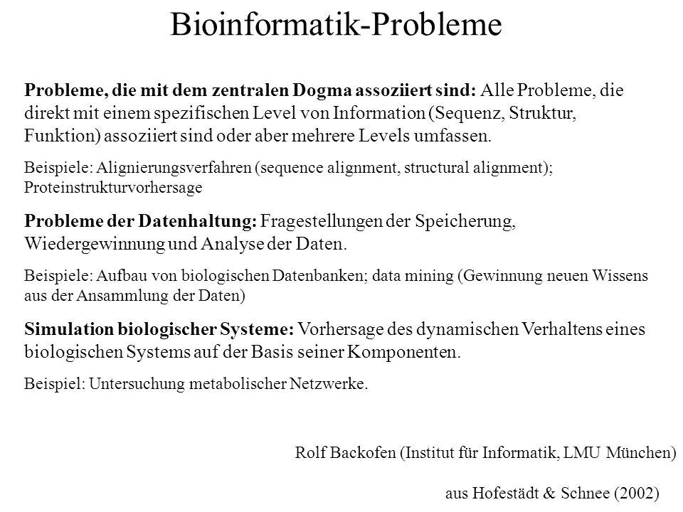 Bioinformatik-Probleme