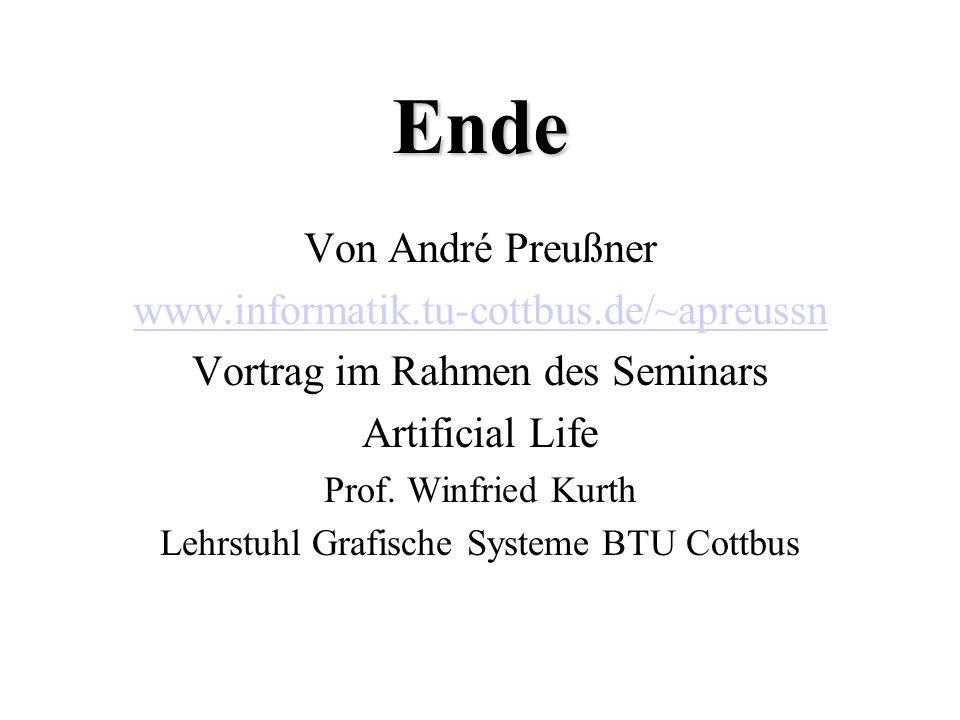 Ende Von André Preußner www.informatik.tu-cottbus.de/~apreussn