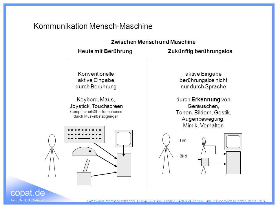Kommunikation Mensch-Maschine