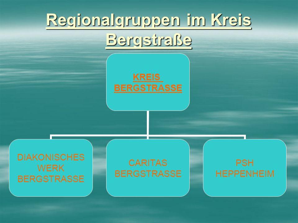 Regionalgruppen im Kreis Bergstraße