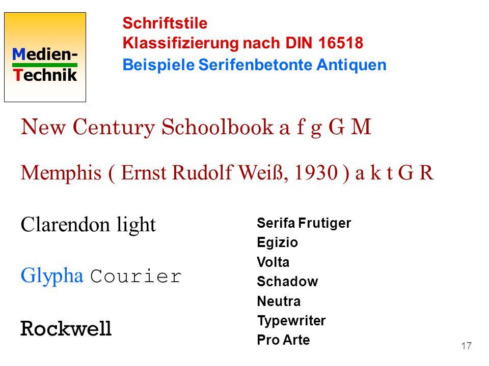 New Century Schoolbook a f g G M