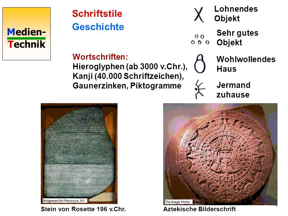 Schriftstile Geschichte Lohnendes Objekt Sehr gutes Objekt