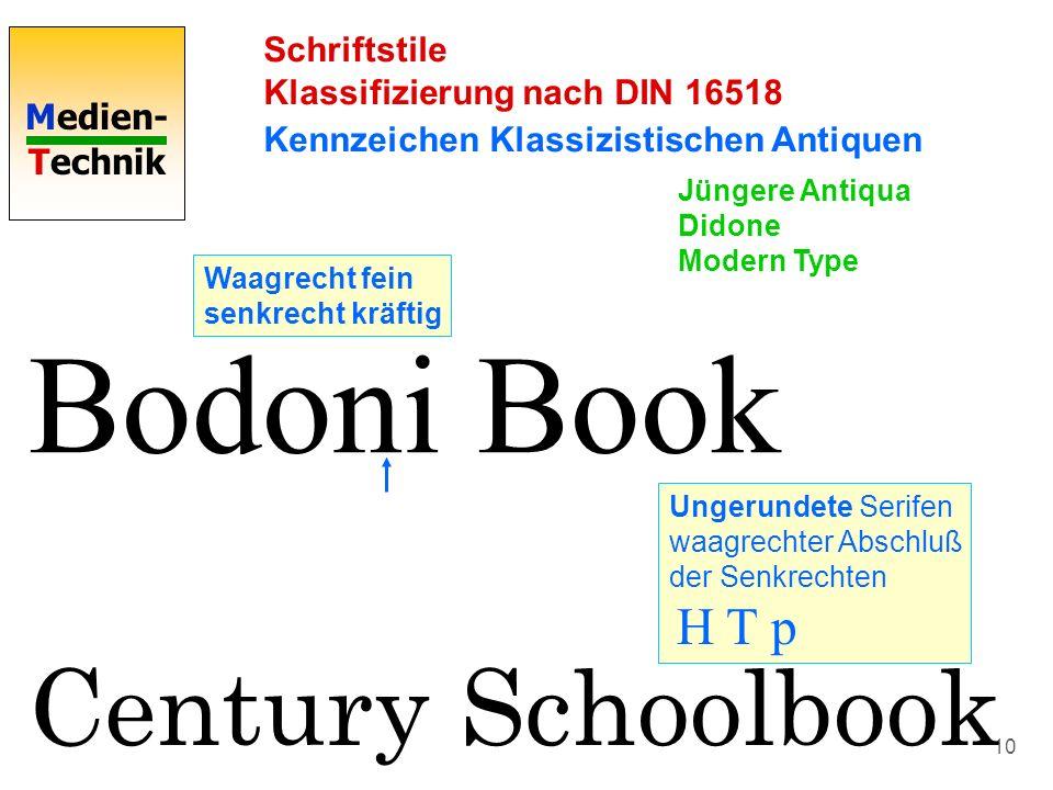 Bodoni Book Century Schoolbook