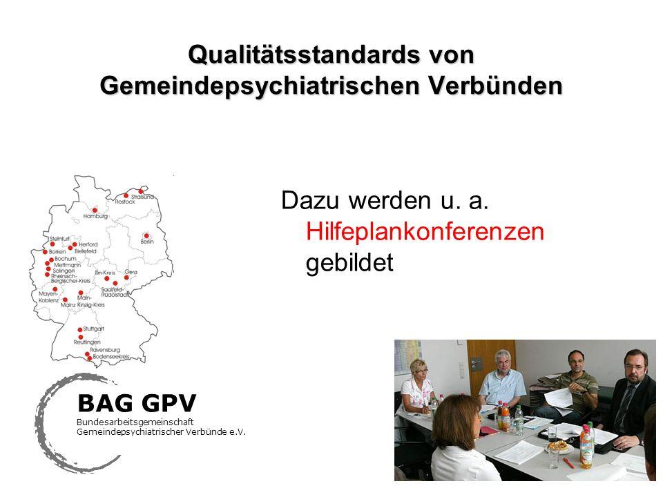 Qualitätsstandards von Gemeindepsychiatrischen Verbünden