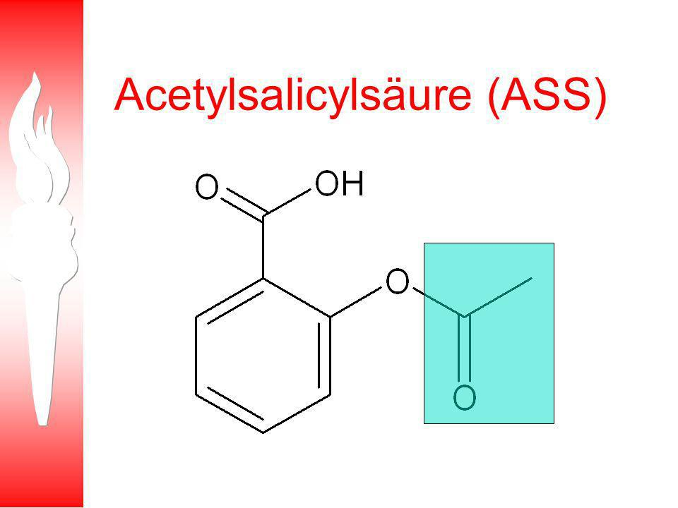 Acetylsalicylsäure (ASS)