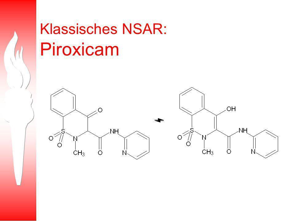 Klassisches NSAR: Piroxicam