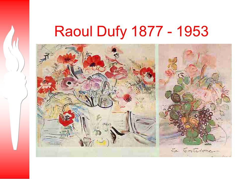 Raoul Dufy 1877 - 1953