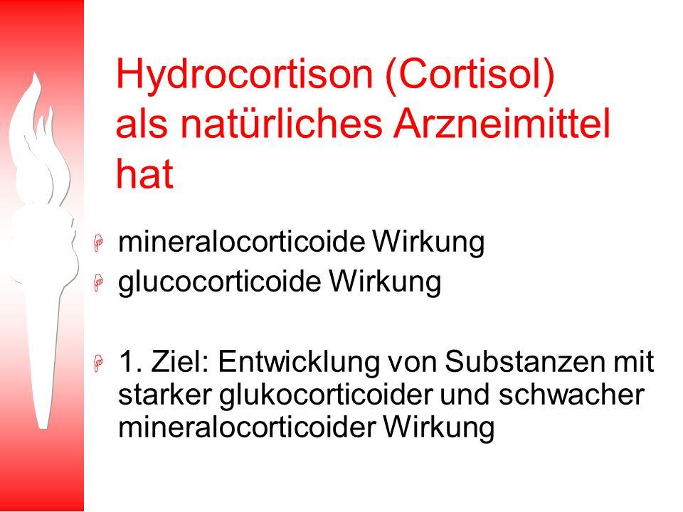 Hydrocortison (Cortisol) als natürliches Arzneimittel hat