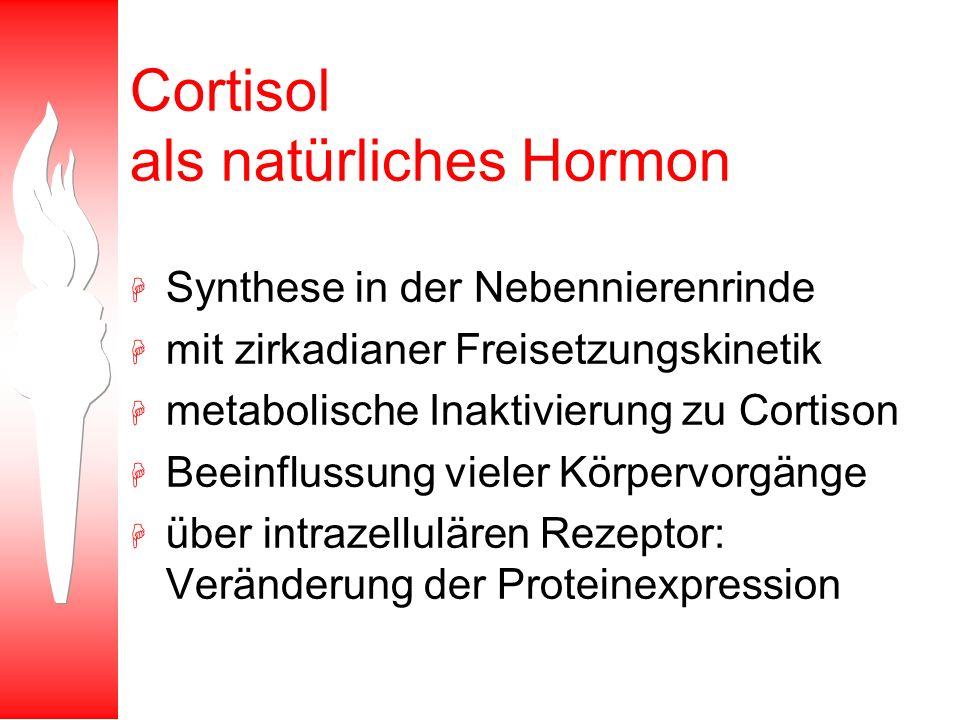 Cortisol als natürliches Hormon